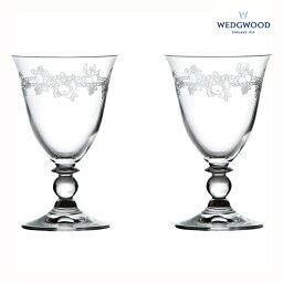 ウェッジウッド 【ペアワイングラス】ウェッジウッド クイーンズウエア フェスティビティ クリスタル ワインペア (1053921 FEC W2) 【ペアセット/ワイングラス/ブランド/洋食器/ギフト】