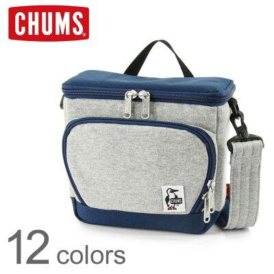 CHUMS(チャムス) ボックス カメラバッグ (スウェット×ナイロン) [CH60-2520](カメラ/バッグ/一眼レフ/デジカメ/ミラーレス/ビデオ/レンズ/おしゃれ/かわいい/メンズ/レディース/BAG)