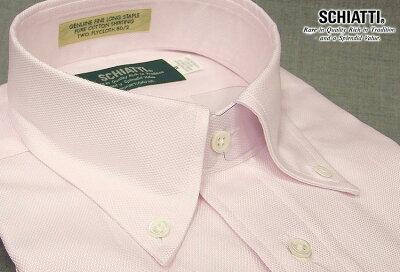 【 SCHIATTI / スキャッティ 】 半袖ボタンダウンシャツ HBD-218 【楽ギフ_包装】 日本製