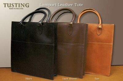 タスティング トートバッグ TUSTING Lamport Leather Tote Bag タスティング ランポート・レザートートバッグ