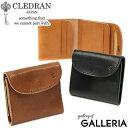 ノベルティ付&無料ラッピング クレドラン 財布 CLEDRAN 二つ折り 二つ折り財布 本革 コンパクト DEMI デミ SMALL WALLET ミニ財布 小さめ レディース CL-3016