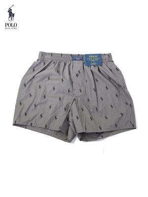 【メール便対応】【US買い付け正規品】POLO Ralph Lauren ポロ ラルフローレン トランクス ボクサーパンツ CLASSIC BOXER PANT gray