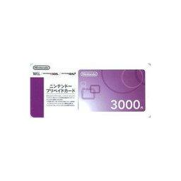Wiiポイント 【クレジット支払不可】ニンテンドープリペイドカード3000円 150316