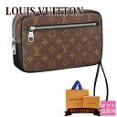 モノグラム ルイヴィトン バッグ 鞄 かばん LOUIS VUITTON 新品 メンズ セカンドバッグ ポシェット・カサイ モノグラム・マカサー M42838 ギフト プレゼント ギフト