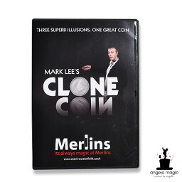 コイン 楽天ランキング1位獲得【手品 マジック】Clone Coin + DVD by Mark Lee - US 1/2 Dollar 【HLS_DU】【コンビニ受取対応商品】