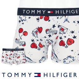 Tommy Hilfiger TOMMY HILFIGER|トミーヒルフィガーFASHON UNDERWEAR COTTON TRUNK PHOTOコットン トランク フォト ボクサーパンツ5339-1521男性 メンズ プレゼント 贈答 ギフト