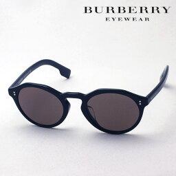 バーバリー プレミア生産終了モデル 【バーバリー サングラス 正規販売店】 BURBERRY BE4280F 300173 Made In Italy ラウンド