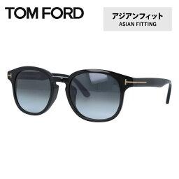 トムフォード トムフォード サングラス TOM FORD FRANK FT0399F 01N 52 (TF0399F 01N 52) アジアンフィット ボストン型 メンズ レディース UVカット 紫外線 TOMFORD