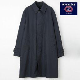 インバーティア リバーシブル ステンカラーコート[INVERTERE / インバーティア]日本製 メンズ コート英国 SHIPS監修 [JA]