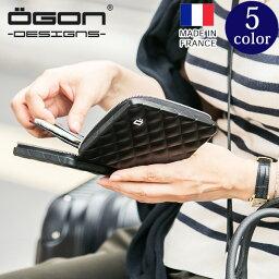 オゴン [名入れ無料]OGON フランス製アルミキルトパスポートウォレット[OGON/オゴン][送料無料][ギフト アルミニウム カードケース ビジネス ポイントカード プレゼント レディース パスポート 入れ ケース かわいい] グレンフィールド