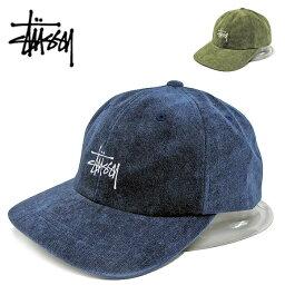 ステューシー STUSSY ステューシー キャップ131880 NO WALE CORD LOW CAP NO WALE コーデュロイ ローキャップ