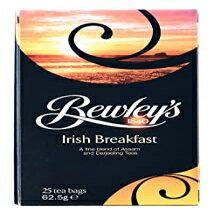 ビューリーズ アイリッシュブレックファースト、ビューリーズティーバッグ、アイリッシュブレックファースト、25カウント、62.5グラム Irish Breakfast, Bewley's Tea Bags, Irish Breakfast, 25 Count, 62.5 Gram