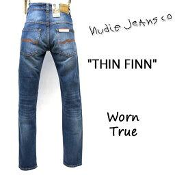 ヌーディージーンズ 2019SS新作 NUDIE JEANS ( ヌーディージーンズ )THIN FINN [ WORN TRUE ](N013) / シンフィン [ ウォーントゥルー ] 49161-1198 SKU#113134 nudie jeans THINFINN ヌーディージーンズ メンズ