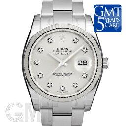 デイトジャスト 腕時計(メンズ) ROLEX ロレックス デイトジャスト 116234G シルバー オイスターブレス 新品腕時計メンズ 送料無料