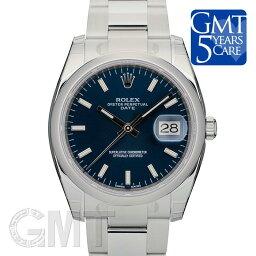 オイスター 腕時計(メンズ) ROLEX ロレックス オイスターパーペチュアル&デイト 115200 ブルー【新品】【腕時計】【メンズ】 【送料無料】 【あす楽_年中無休】