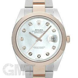 デイトジャスト 腕時計(メンズ) ロレックス デイトジャスト41 126301NG ホワイトシェル ROLEX 新品メンズ 腕時計 送料無料