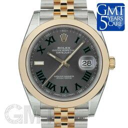 デイトジャスト 腕時計(メンズ) ロレックス デイトジャスト 41 126303 グレー ローマ ジュビリーブレス ROLEX 新品メンズ 腕時計 送料無料