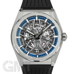 ゼニス デファイ 腕時計(メンズ) ゼニス デファイ クラシック ブラックラバー スケルトンダイアル 95.9000.670/78.R782 ZENITH ZENITH新品メンズ腕時計 送料無料