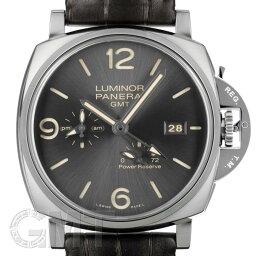 ルミノール 腕時計(メンズ) パネライ ルミノール ドゥエ 3デイズ GMT パワーリザーブ オートマチック アッチャイオ PAM00944 OFFICINE PANERAI 新品メンズ 腕時計 送料無料