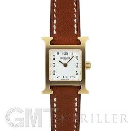 エルメス Hウォッチ 腕時計(レディース) エルメス Hウォッチミニ 037963WW00 HH1.101.131/VBA ナチュラルブラウン HERMES 新品レディース 腕時計 送料無料