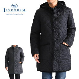 ラベンハム LAVENHAM ラベンハム フード付き キルティングコート グリンステッド GRINSTEAD キルティングジャケット (メンズ)