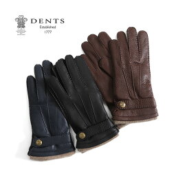 デンツ 手袋(メンズ) 【クーポン対象アイテム 2/18(月) 9:59終了】DENTS デンツ レザーグローブ 手袋 カシミア 5-1548 (メンズ)
