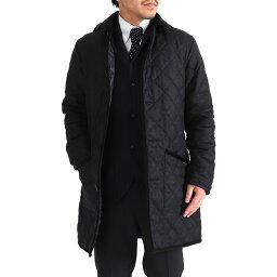 ラベンハム LAVENHAM ラベンハム GRINSTEAD グリンステッド フランネル フード付き キルティングジャケット コート (メンズ)