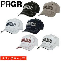 プロギア プロギア PRGR メンズ ゴルフ キャップ ステッチ 契約プロ着用予定 PCAP-102 2018