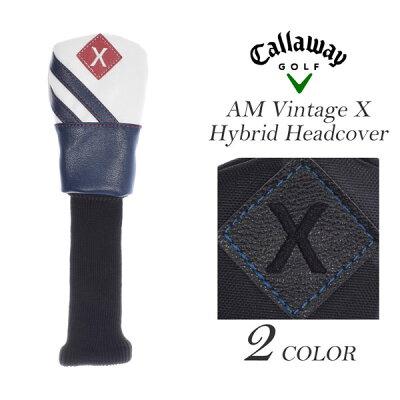 キャロウェイ Callaway ヘッドカバー ゴルフヘッドカバー メンズ AM ビンテージ X ハイブリッド ヘッドカバー USA直輸入 あす楽対応