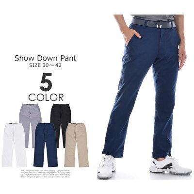 ゴルフパンツ メンズ 春夏 ゴルフウェア メンズ パンツ おしゃれ (J・スピース着用モデル)アンダーアーマー UNDER ARMOUR ゴルフパンツ メンズ おしゃれ パンツ ボトム ショー ダウン パンツ 大きいサイズ USA直輸入 あす楽対応