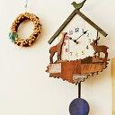 振り子時計 かわいい 掛け時計 -CROTONE- [かわいい 掛け時計 壁掛け時計 カワイイ 振り子時計 壁掛振り子時計 壁掛け振子時計 レトロ 可愛い こども部屋 小鳥 動物 新築祝い 開店祝い プレゼント 贈り物 アニマル デザイン時計 オシャレ 壁掛け時計 おしゃれ 人気]