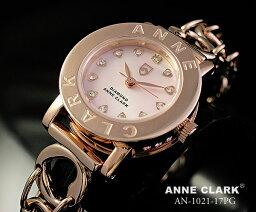 アンクラーク 腕時計(レディース) ANNE CLARK (アンクラーク) AN-1021-17PG/AN1021-17PG ブレスタイプ ダイヤモンド ピンクゴールド レディースウォッチ 腕時計