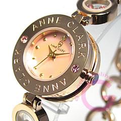 アンクラーク 腕時計(レディース) ANNE CLARK アンクラーク AT-1008-17PG/AT1008-17PG ブレスタイプ ダイヤモンド ピンクゴールド レディース 腕時計