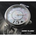 アンクラーク 腕時計(レディース) ANNE CLARK アンクラーク ソーラー レディース マザーオブパール シルバー AU-1032-09/AU1032-09 腕時計
