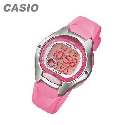 【メール便送料無料】 CASIO カシオ LW-200-4B/LW200-4B スタンダード デジタル ピンク キッズ 子供 かわいい レディース チープカシオ チプカシ 腕時計