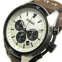 コーチ 腕時計(メンズ) FOSSIL (フォッシル) CH2890 COACHMAN/コーチマン クロノグラフ レザーベルト メンズウォッチ 腕時計