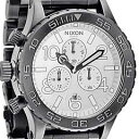 ニクソン 腕時計(メンズ) NIXON(ニクソン) THE 42-20 Chrono SS A037-486/A037486 ガンメタル クロノグラフ メンズ 腕時計 【あす楽対応】