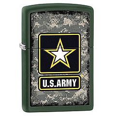 ミリタリーZippo 【メール便送料無料】ZIPPO(ジッポー) 28631 United States Army/ミリタリー Green Matte/グリーンマット FULL SIZE ZIPPO LIGHTER/ジッポライター
