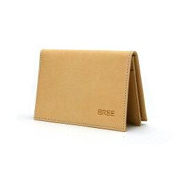 ブリー  BREE ブリ− 名刺入れ LUND 125 397750125 nature メンズ レディース ユニセックス ヌメ革 カードケース セール プレゼント ギフト