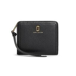 マークジェイコブス 二つ折り財布(メンズ) マークジェイコブス 二つ折り財布 M0015122 001/BLACK ブラック 黒 サイフ ウォレット MARC JACOBS レディース メンズ ユニセックス 無地 ブランド 新品