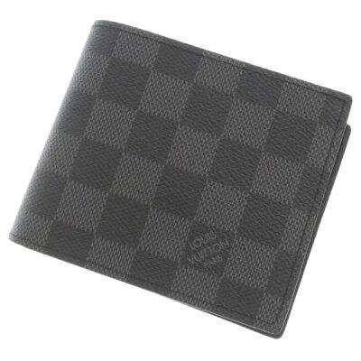 ルイヴィトン 財布 ダミエグラフィット ポルトフォイユ・マルコ 新型 N63336 LOUIS VUITTON ヴィトン 二つ折り財布 メンズ