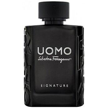 【 アウトレット 】 サルヴァトーレ フェラガモ ウォモ シグネチャー 100ML EDP SP ( オードパルファム ) SALVATORE FERRAGAMO UOMO 人気 メンズ フレグランス 香水 テスター 訳あり