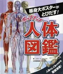 人体図鑑 ポップアップ人体図鑑 等身大ポスターがとびだす!