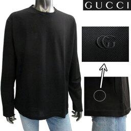 グッチ グッチ(GUCCI) 【サイズL,XL】長袖 Tシャツ トップス コットン メンズ ブラック 黒 108639 Z1121 1000 【楽ギフ_包装】【smtb-tk】 (R35800)【送料無料】 3S