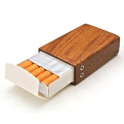 木製シガレットケース 電子タバコ 木製 ギフト 木製シガレットケース(ショート用)【タバコケース タバコ たばこ ホープ ケース シガレット カバー マホガニー ウッド木製 革 レザー 雑貨 LIFE SWEET D】ギフト ※名入れサービスは終了しました。