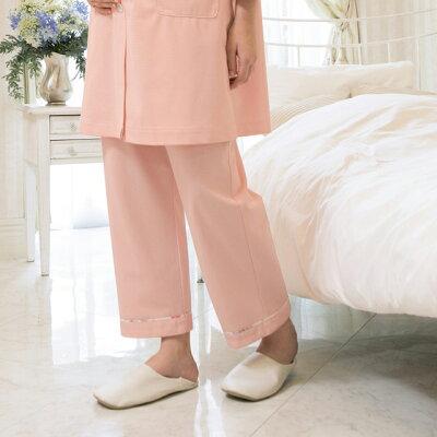 lp742 ローラアシュレイ 患者衣 マタニティパンツ モンブラン製品 アイリス ブルー ローズ ピンク パジャマ ナイトウエア 患者衣 入院準備 マタニティ 妊婦 ママ ウエストゴム lauraashley プレゼント