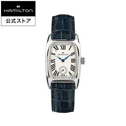ハミルトン ボルトン 腕時計(レディース) ハミルトン 公式 腕時計 Hamilton Boulton アメリカンクラシック ボルトン レディース レザー | 正規品 時計 革ベルト ブルー クォーツ レディース腕時計 ブランド腕時計 ビジネス レディースウォッチ 女性腕時計 おしゃれ 女性 watch シンプル ウオッチ 女性用腕時計