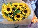 ひまわり ひまわり20本の花束 高品質のヒマワリを熟練のスタッフが心を込めてお届けいたします。母の日父の日お誕生日の贈り物に人気です!