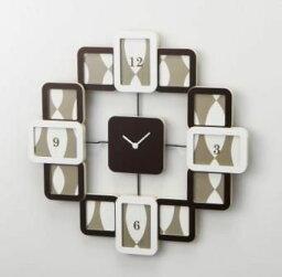 クロック& フォトフレーム 時計 掛け時計クロックフレーム2結婚祝い インテリア 楽ギフ_包装