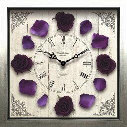 芝生 時計 掛け時計 送料無料ディスプレイクロック/Classique Rose/Purpie結婚祝い インテリア 【楽ギフ_包装】